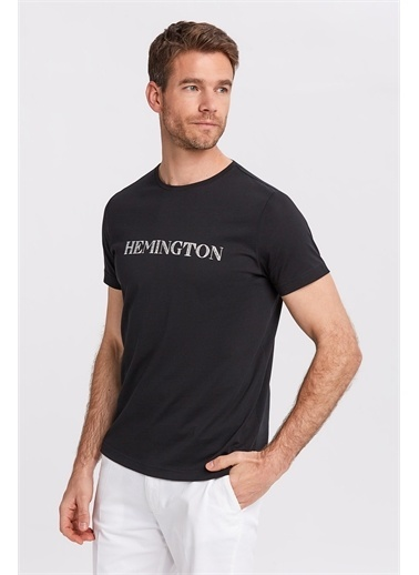 Hemington Tişört Siyah